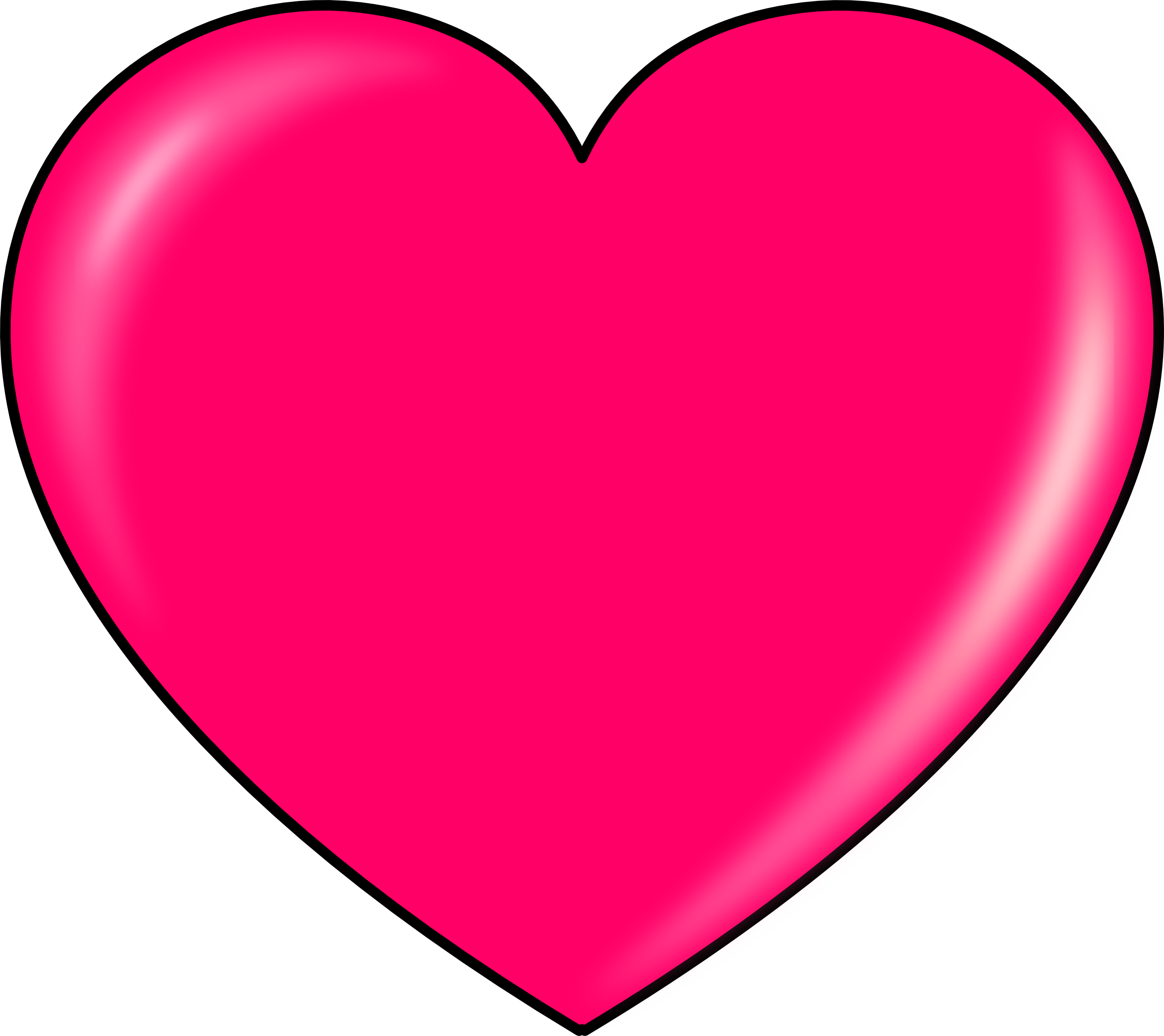 Hot pink heart clipart picture transparent Heart PNG free images, download picture transparent