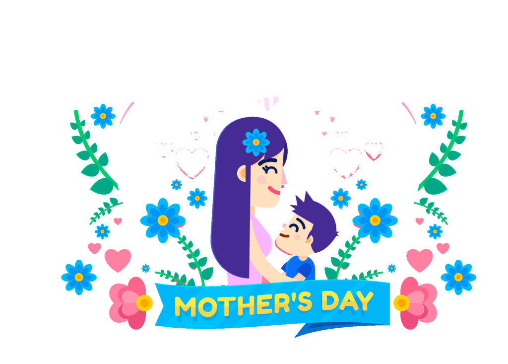 Download clipart images free vector freeuse download Download Mothers Day Cartoon Illustration Free PNG And Clipart ... vector freeuse download