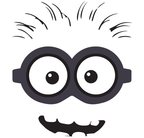 Download clipart images free jpg black and white download minion clip art free | Back > Gallery For > Despicable Me Free ... jpg black and white download