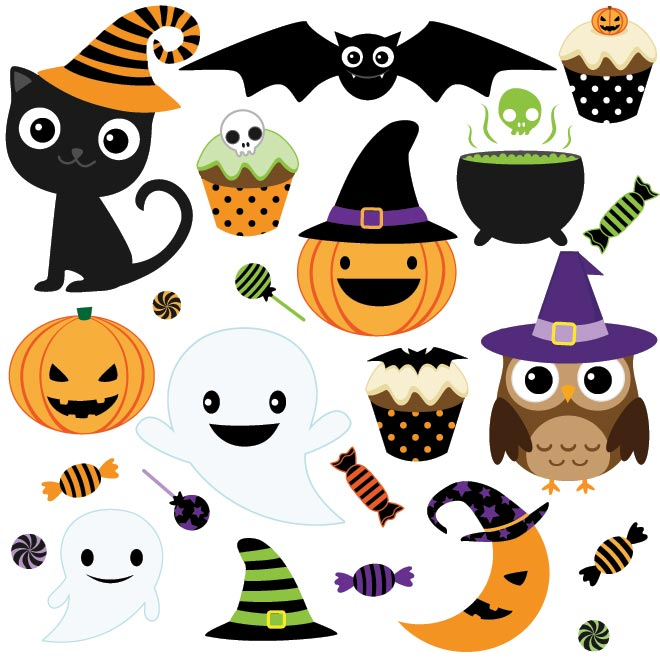 Download free clip art graphic black and white library Halloween Vector Free | Free Download Clip Art | Free Clip Art ... graphic black and white library