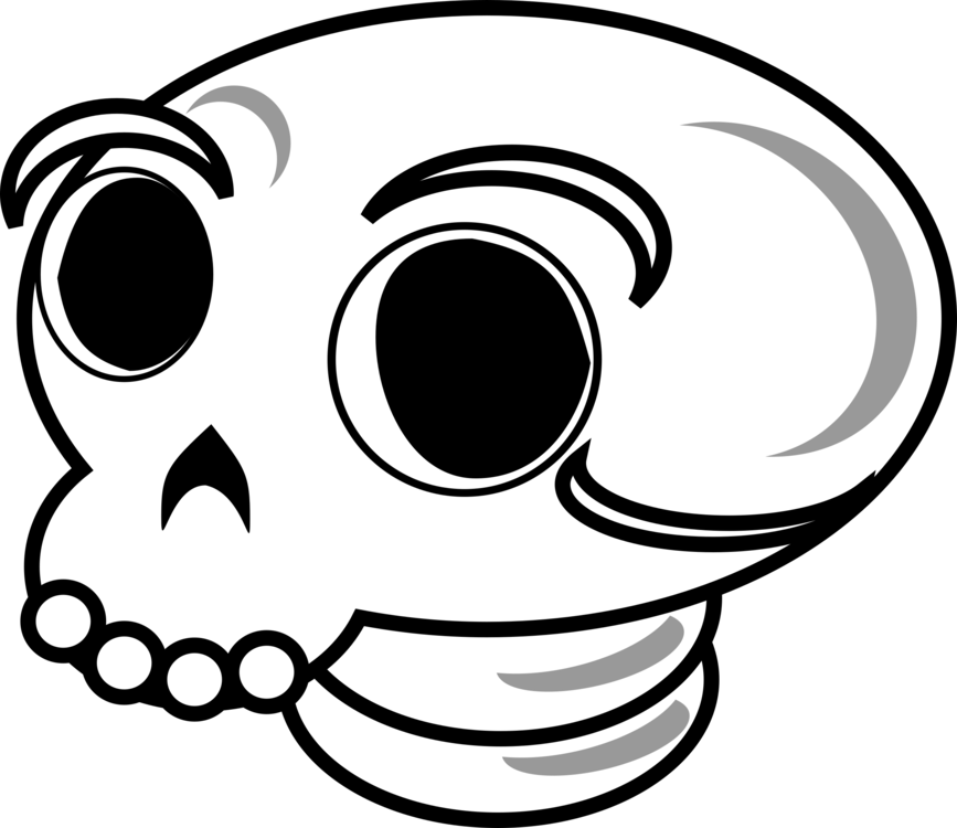 Download free clip art images library Skull Computer Icons Download free commercial clipart - Cartoon ... library