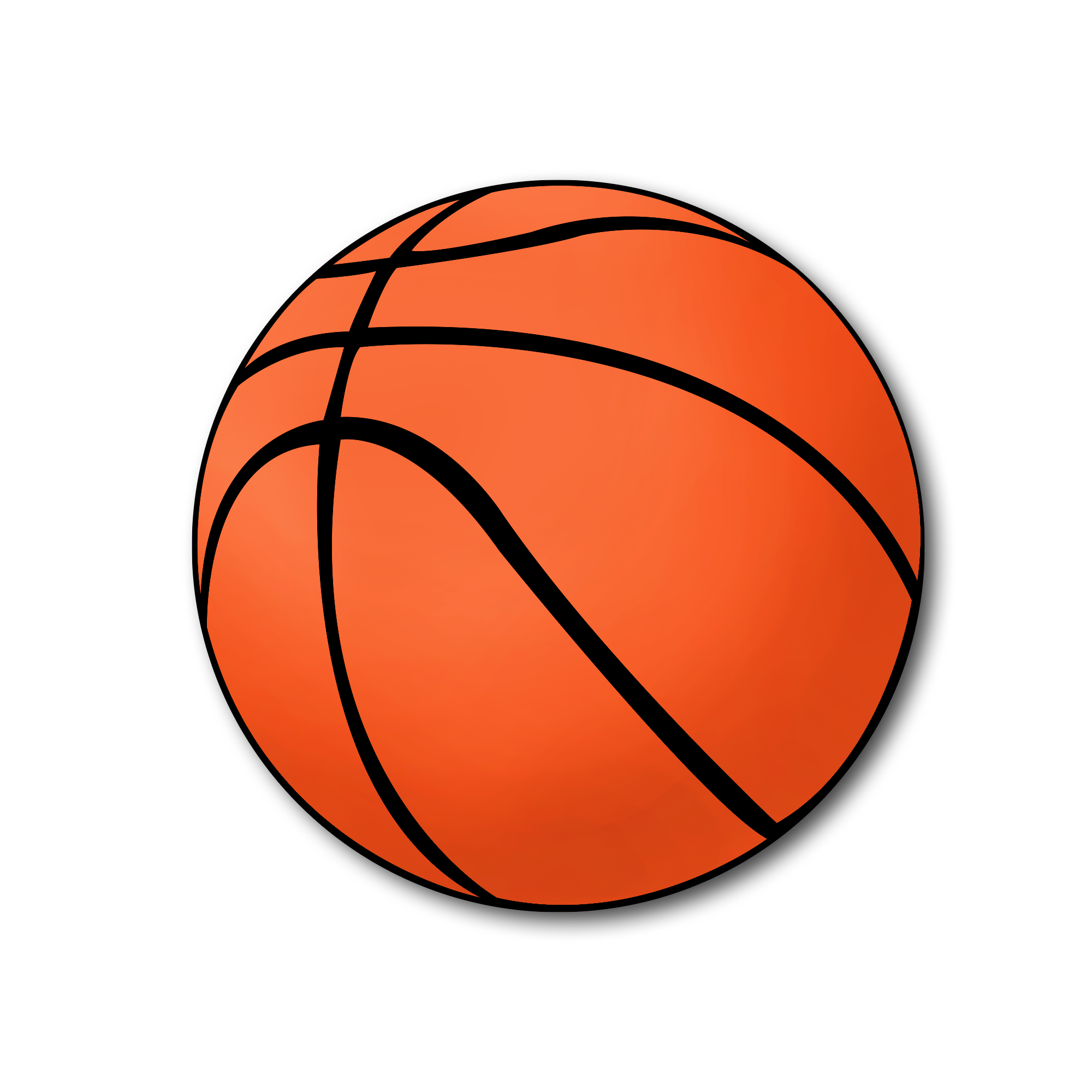 Downloadable basketball clipart vector black and white download Picturae Database vector black and white download