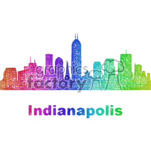 Downtown indianapolis clipart jpg royalty free stock city skyline vector clipart USA Indianapolis . Royalty-free clipart # 402710 jpg royalty free stock