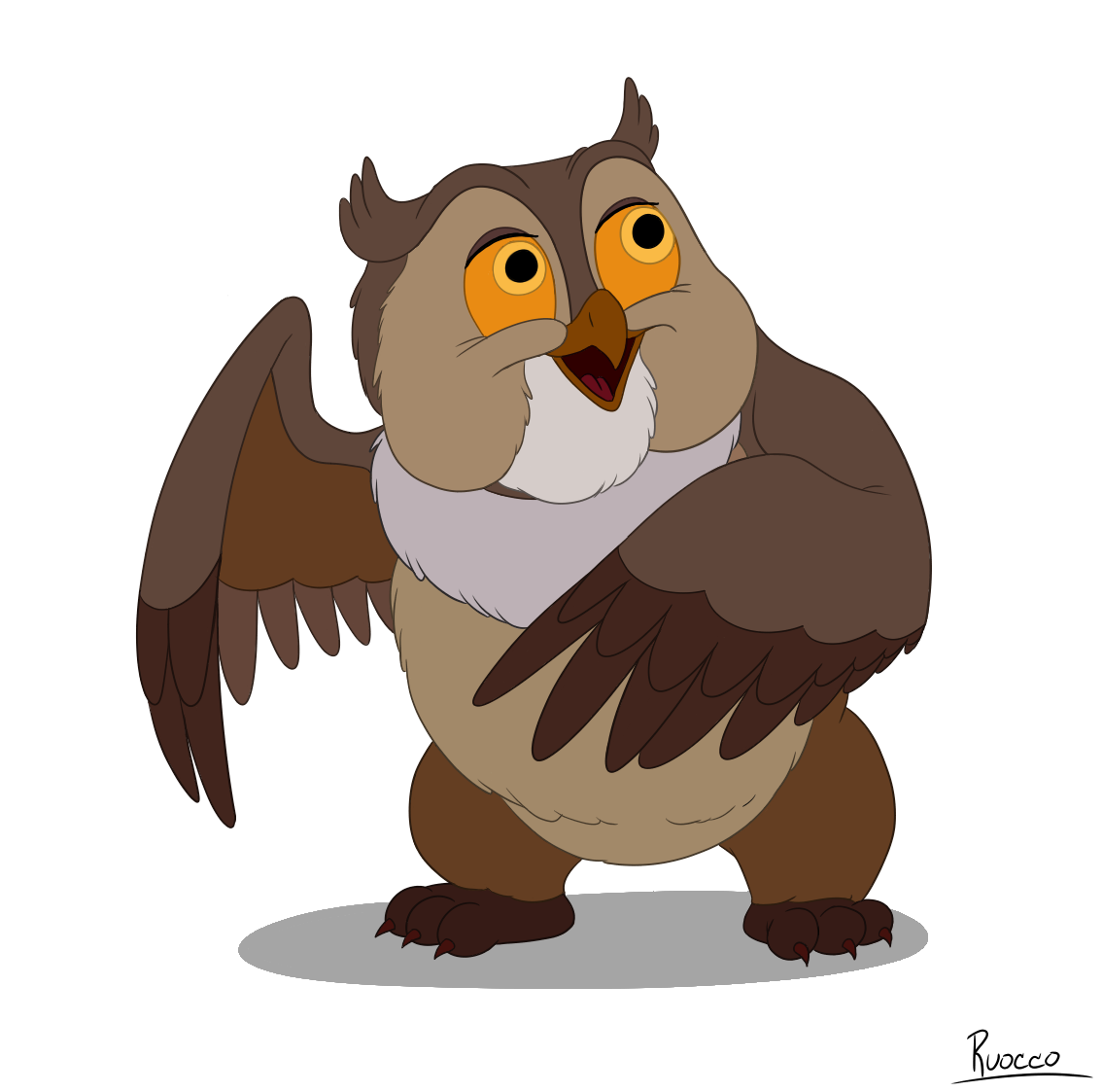 Animatted owl for the. Dozing dog clipart