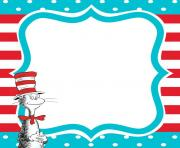 Dr seuss background clipart png freeuse library DR SEUSS BORDER Clipart Free Images png freeuse library