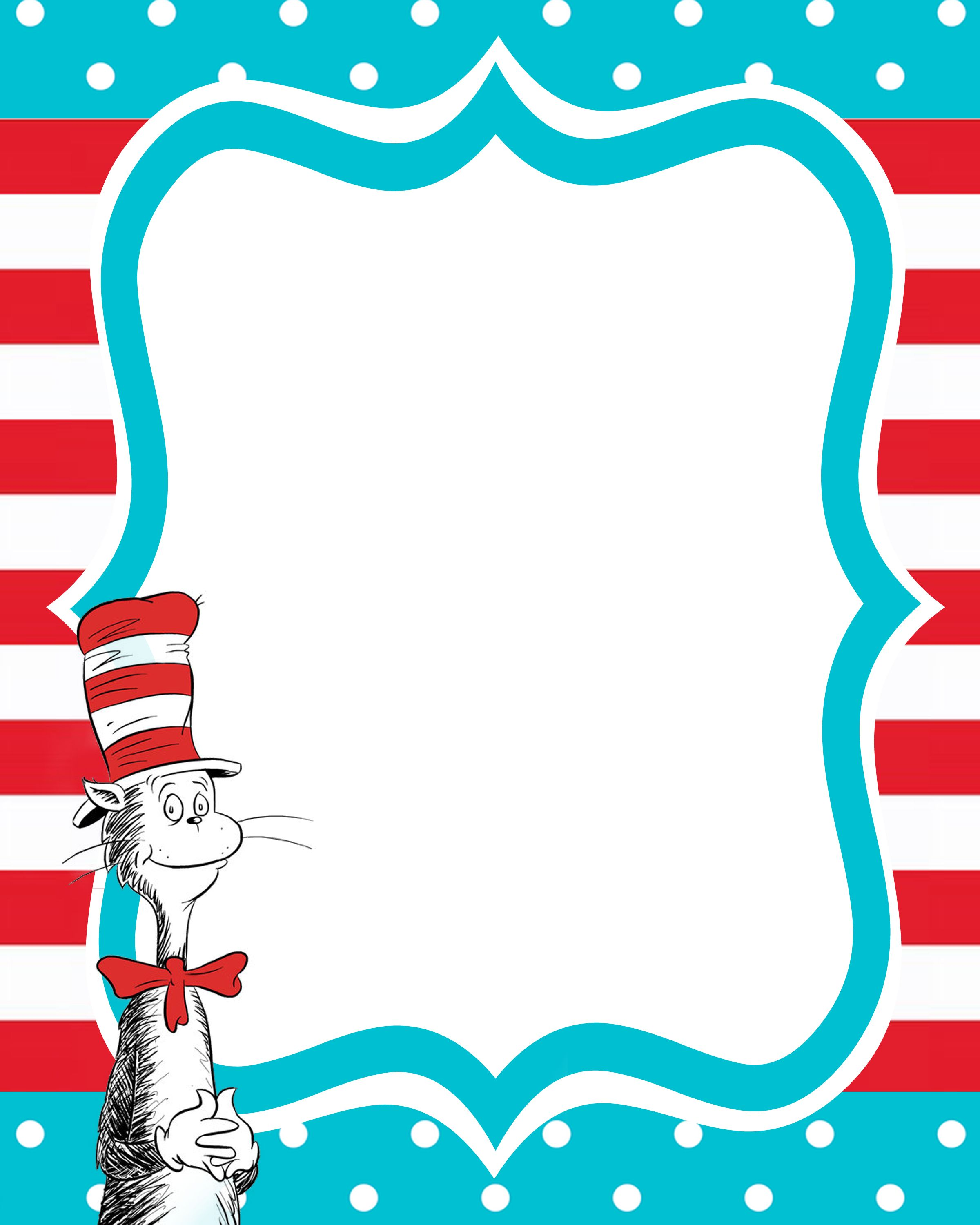 Dr seuss background clipart clipart free stock New Beginnings Dr Seuss decorating ideas | clipart - babies ... clipart free stock