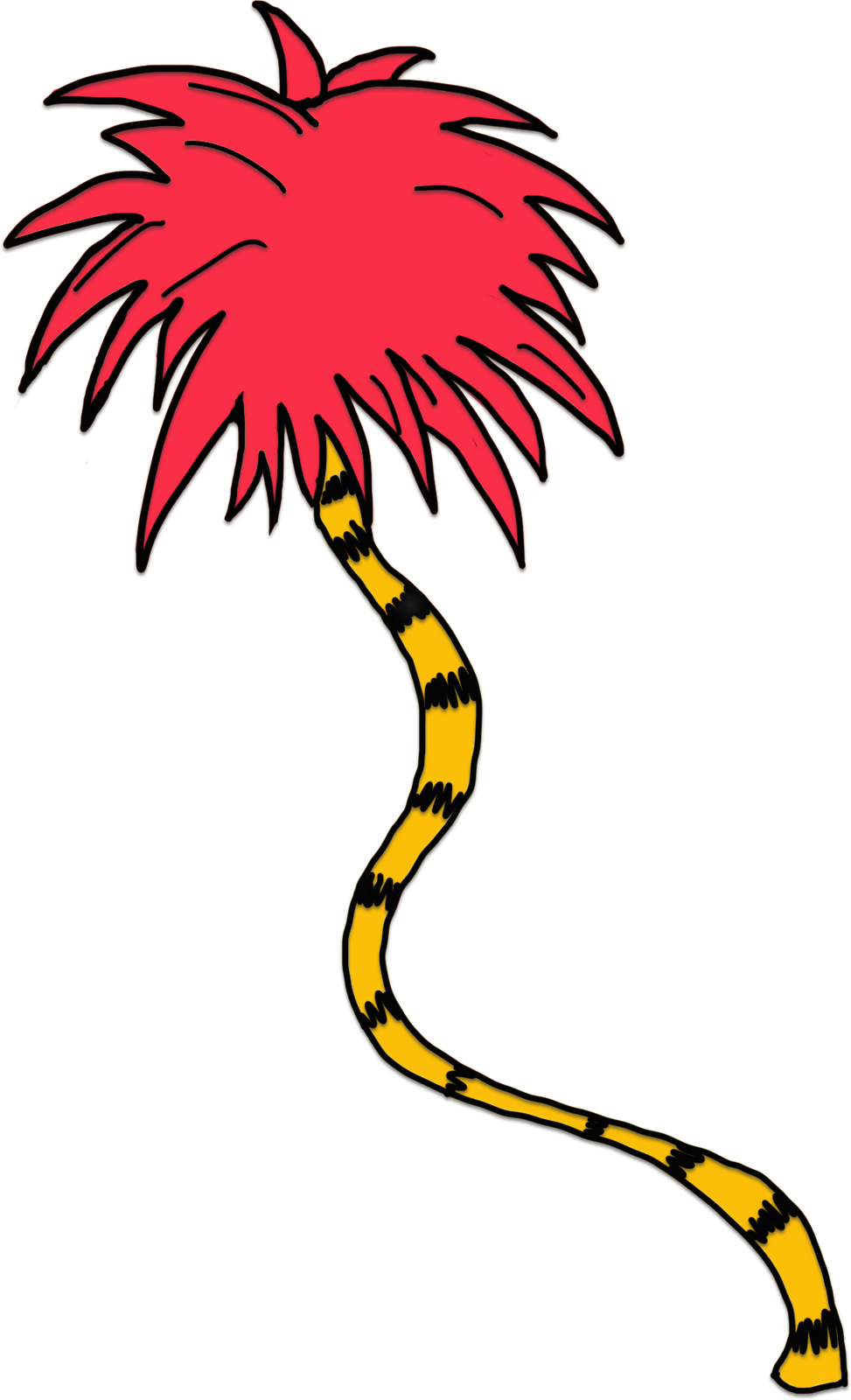 Dr seuss clipart black and white png clip art royalty free stock Download Png Black And White Lorax Trees Clipart - Dr Seuss ... clip art royalty free stock