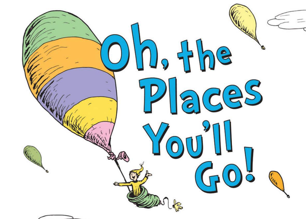 Oh the places you ll go hot air balloon clipart jpg stock Oh, the Places You\'ll Go is the top-selling book for graduation ... jpg stock