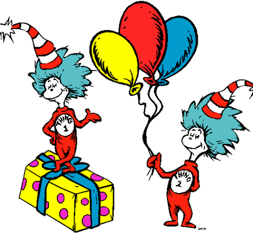 Dr seuss clipart thing 1 and thing 2 picture freeuse stock Dr Seuss Thing | Free Images at Clker.com - vector clip art online ... picture freeuse stock