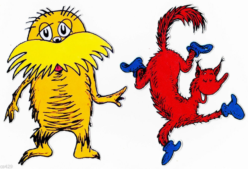 Lorax clip art library. Free clipart of dr seuss