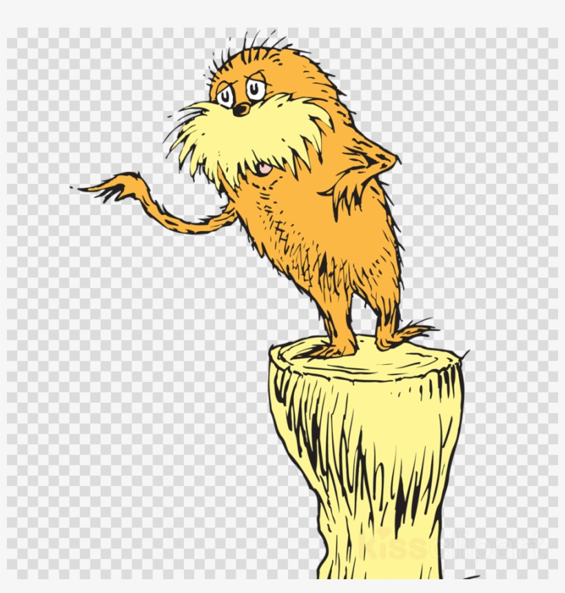 Dr seuss lorax clipart clipart royalty free Download Dr Seuss The Lorax Clipart The Lorax Horton Transparent PNG ... clipart royalty free