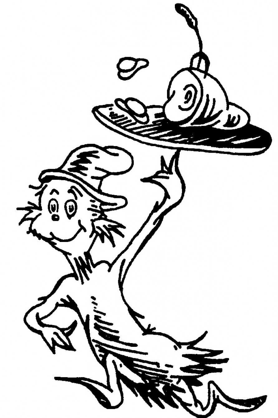 Dr suess characters black and white clipart clip art Dr Seuss Black And White Cliparts   SOIDERGI clip art