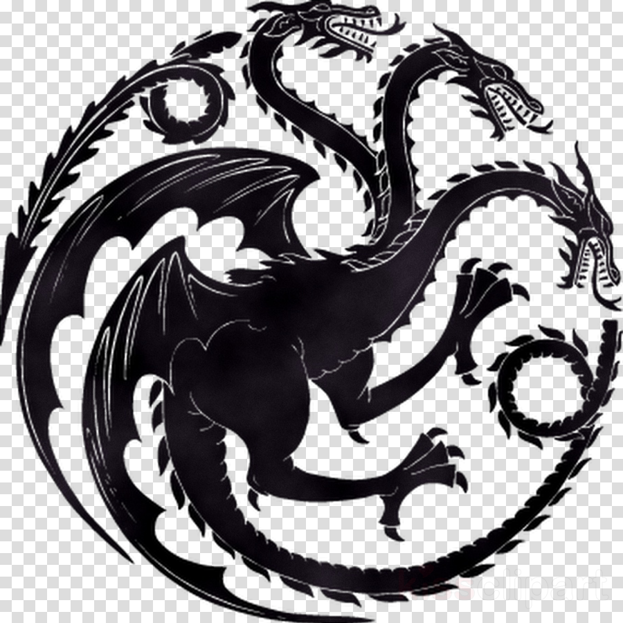 Dracarys clipart clipart royalty free library Stark Logo clipart - Illustration, Dragon, Graphics, transparent ... clipart royalty free library