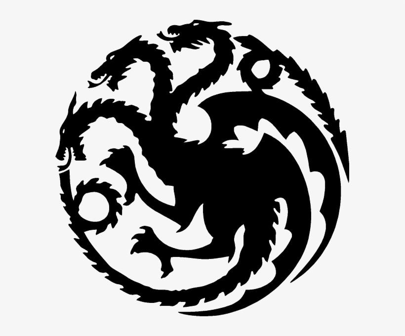 Dracarys clipart banner free Dracarys If Anyone Wants A Transparent Targaryen Sigil - Game Of ... banner free