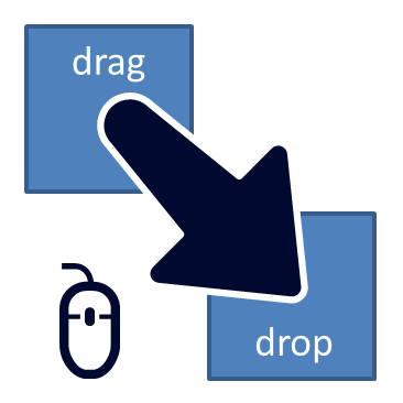 Drag and drop clipart picture transparent drag clipart 68863 - Drag & Drop Macro For PowerPoint ... picture transparent