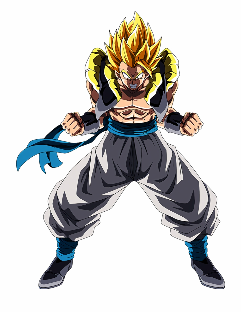 Dragon ball super broly clipart graphic black and white library Dragon Ball Super Broly Renders In Dragon Ball Dokkan - Gogeta Ssj ... graphic black and white library