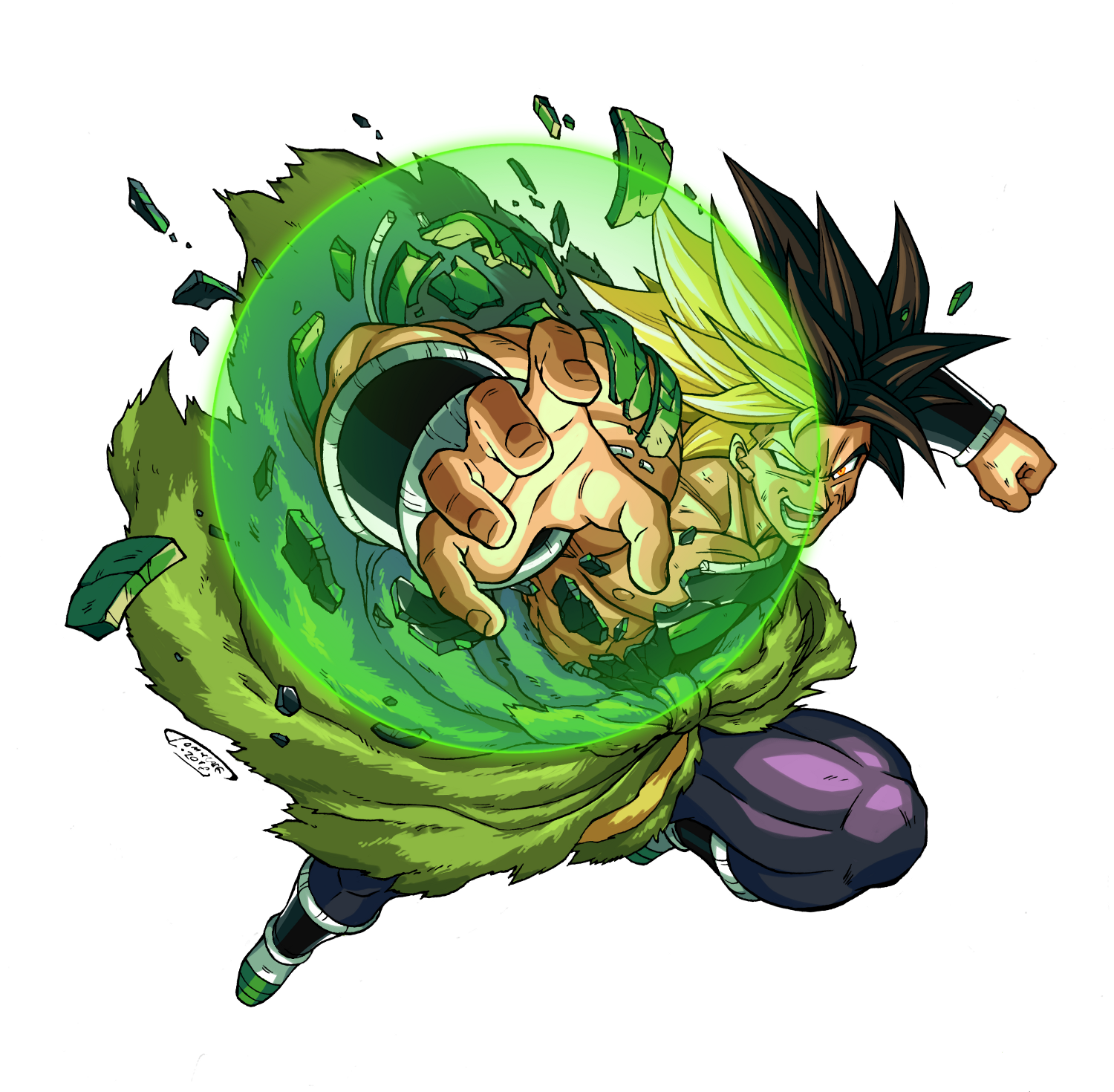 Dragon ball super broly clipart clipart black and white stock Broly - DRAGON BALL - Image #2369943 - Zerochan Anime Image Board clipart black and white stock