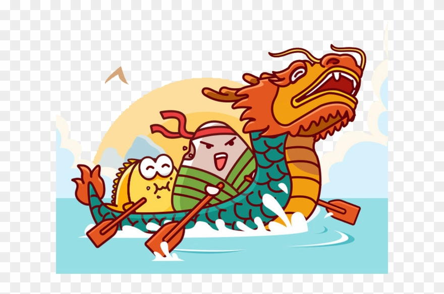 Dragon boat race clipart image library stock Dragon Boat Festival Png Image Transparent Background - Dragon Boat ... image library stock