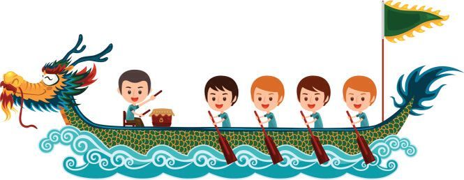 Dragon boat racing clipart picture black and white download Pin by Manh HX on Ca2 | Dragon boat, Dragon boat festival ... picture black and white download