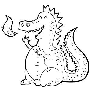 Dragon clipart black and white clip art svg transparent stock Free Clip art of Dragon Clipart Black and White #4314 Best Happy ... svg transparent stock