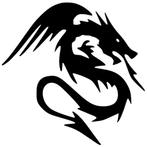 Dragon clipart black and white clip art vector royalty free library Dragon Clipart Black And White | Clipart Panda - Free Clipart Images vector royalty free library