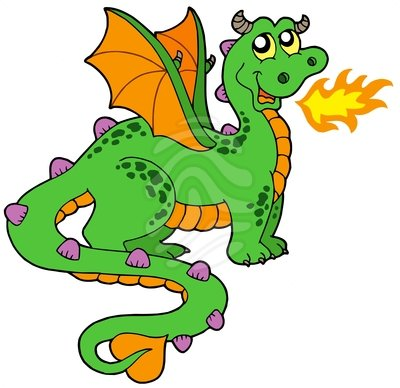 Dragon clipart free picture black and white stock Free Dragon Clipart | Free download best Free Dragon Clipart ... picture black and white stock