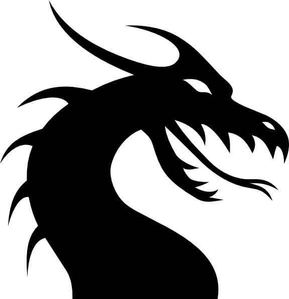 Dragon crown clipart png royalty free Simple Dragon Head clip art - vector clip art online, royalty free ... png royalty free