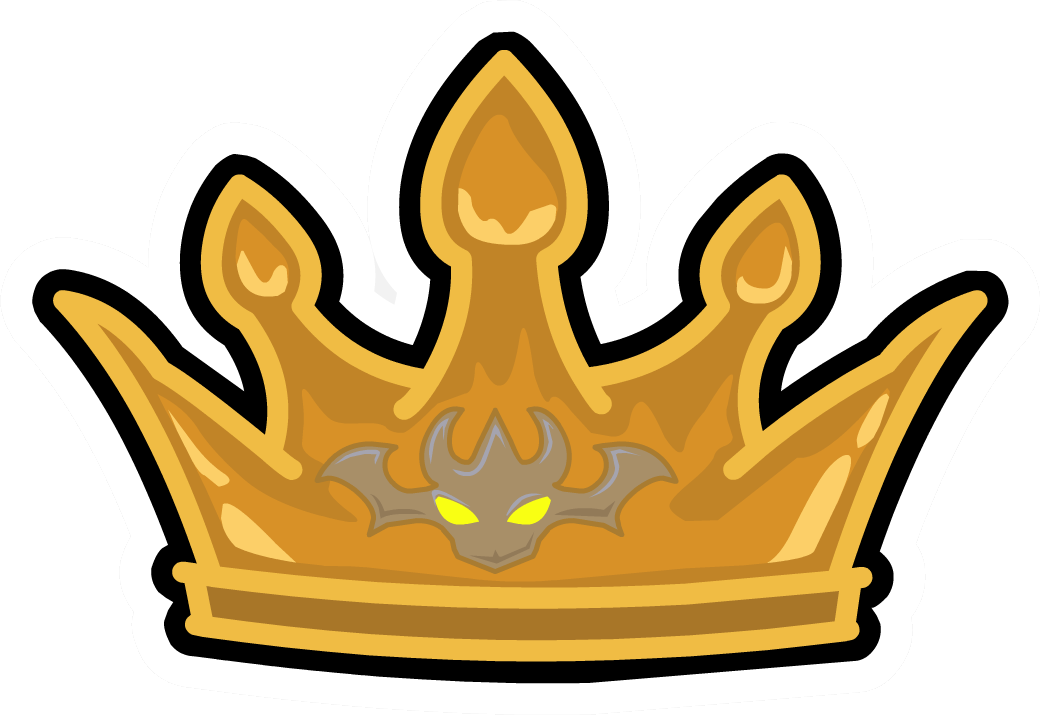 Dragon with crown clipart vector library stock Crown of the Dragon King Pin - Club Penguin Wiki - The free - Clip ... vector library stock