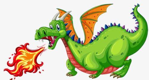 Fiery dragon clipart svg Green Fire-breathing Dragon PNG, Clipart, Cartoon, Cartoon ... svg