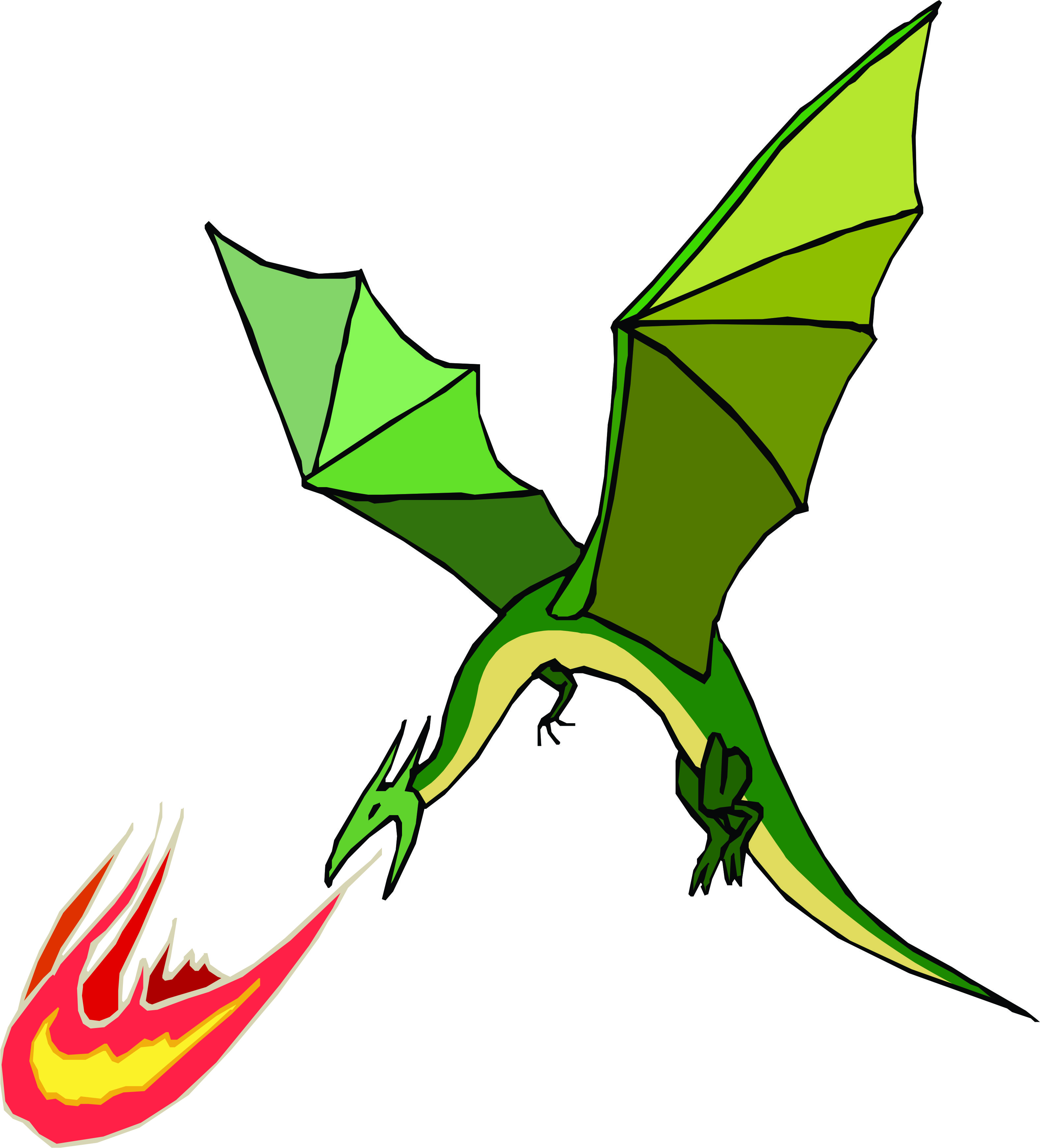 Fiery dragon clipart clipart freeuse stock Dragon Fire Clipart | Clipart Panda - Free Clipart Images clipart freeuse stock