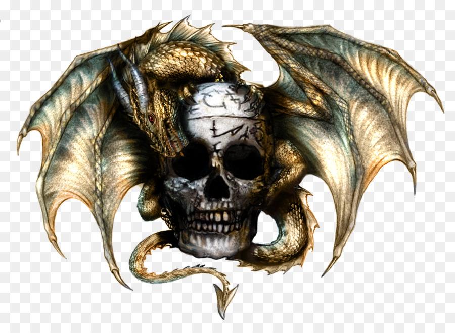 Dragon skull clipart clip download Skull Clipart png download - 900*660 - Free Transparent ... clip download