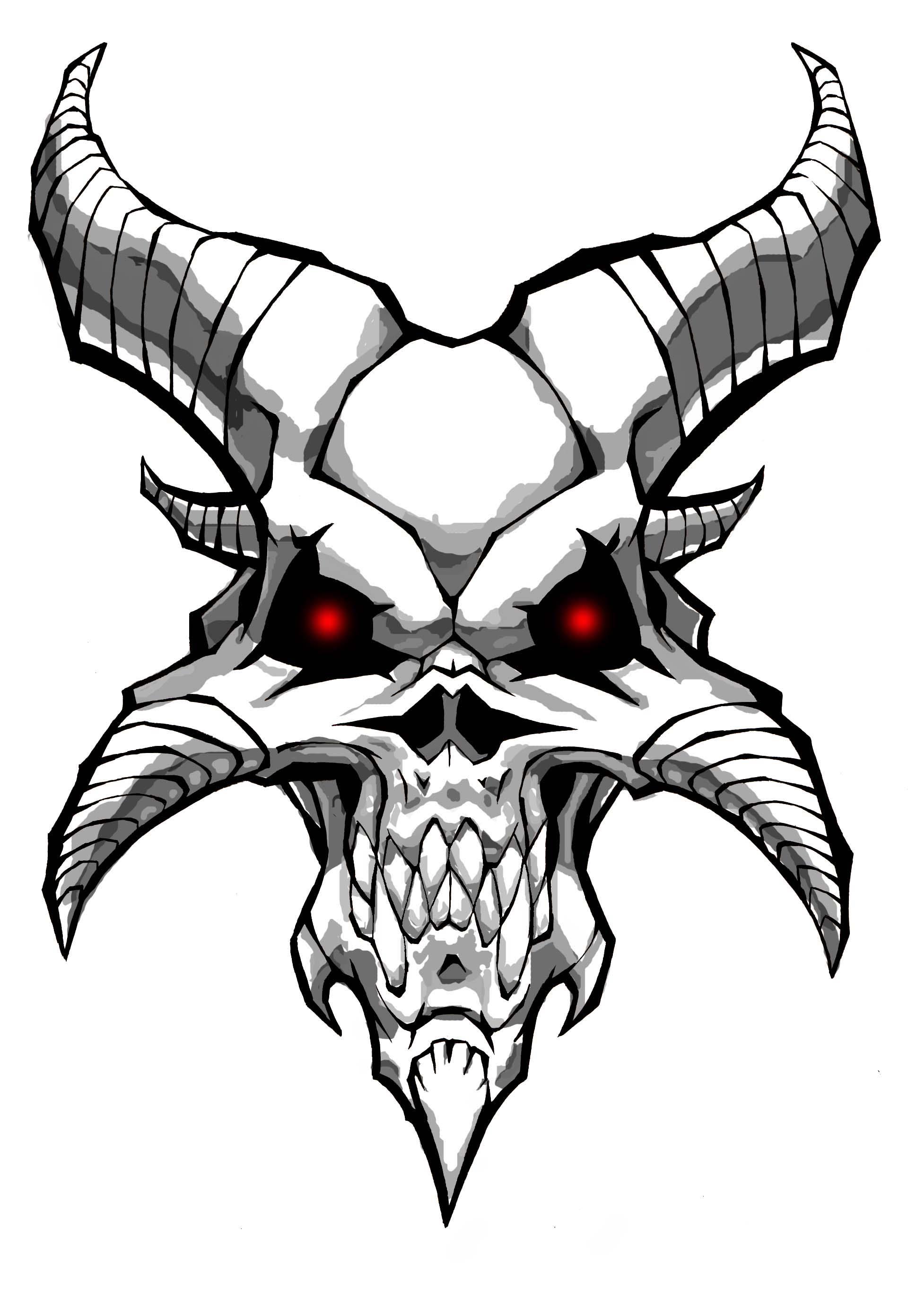Dragon skull clipart clip black and white Dragon Skull Drawings - Clipart library - Clip Art Library clip black and white