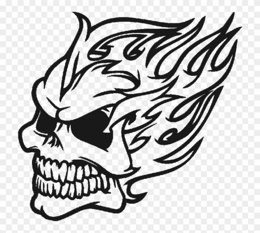 Dragon skull clipart svg stock Tribal Dragon Drawing - Skull Clipart (#1675098) - PinClipart svg stock