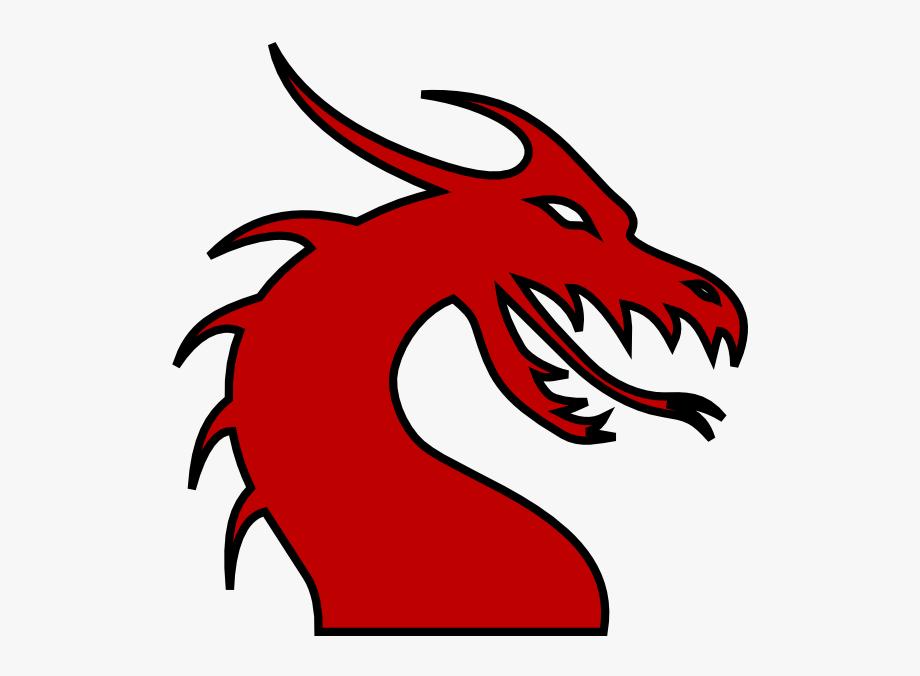 Dragon skull clipart svg Dragon Clipart Dragon Head - Clip Art Dragon Head #581259 ... svg