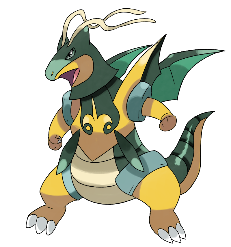 Dragon with crown clipart clip free stock Mega Dragonite Y by Phatmon on DeviantArt clip free stock