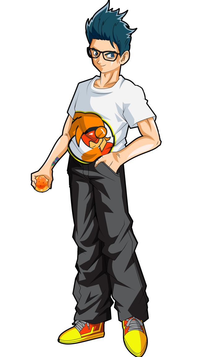Dragons basketball clipart graphic black and white stock Me in Dragon Ball universe by Elrincondeurko on DeviantArt graphic black and white stock