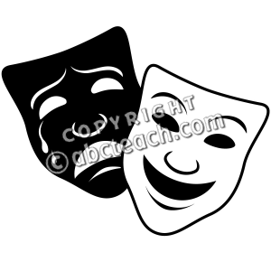 Drama comedy masks clipart library 12+ Drama Mask Clip Art | ClipartLook library