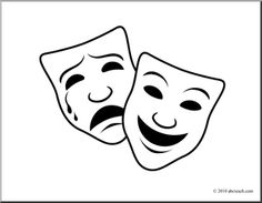 Drama comedy masks clipart clipart download 6+ Drama Mask Clip Art | ClipartLook clipart download