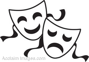 Musical theater clipart image transparent 61+ Theater Masks Clipart | ClipartLook image transparent