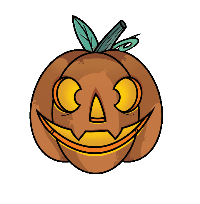 How to a jack. Draw on pumpkin clipart