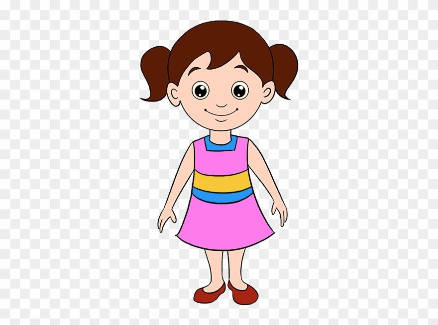 Drawing cartoon clipart image transparent Clipart Library Stock Babies Drawing Cartoon - Girl Cartoon Drawing ... image transparent