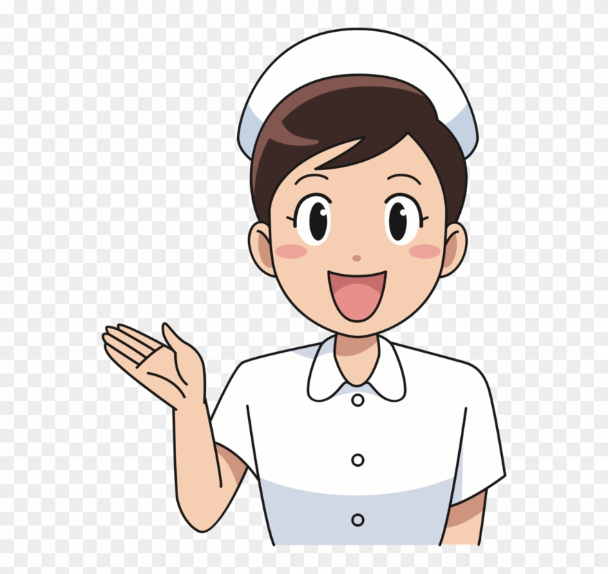 Drawing cartoon clipart library Drawing Cartoon Female Character - Happy Nurse Cartoon Clipart ... library