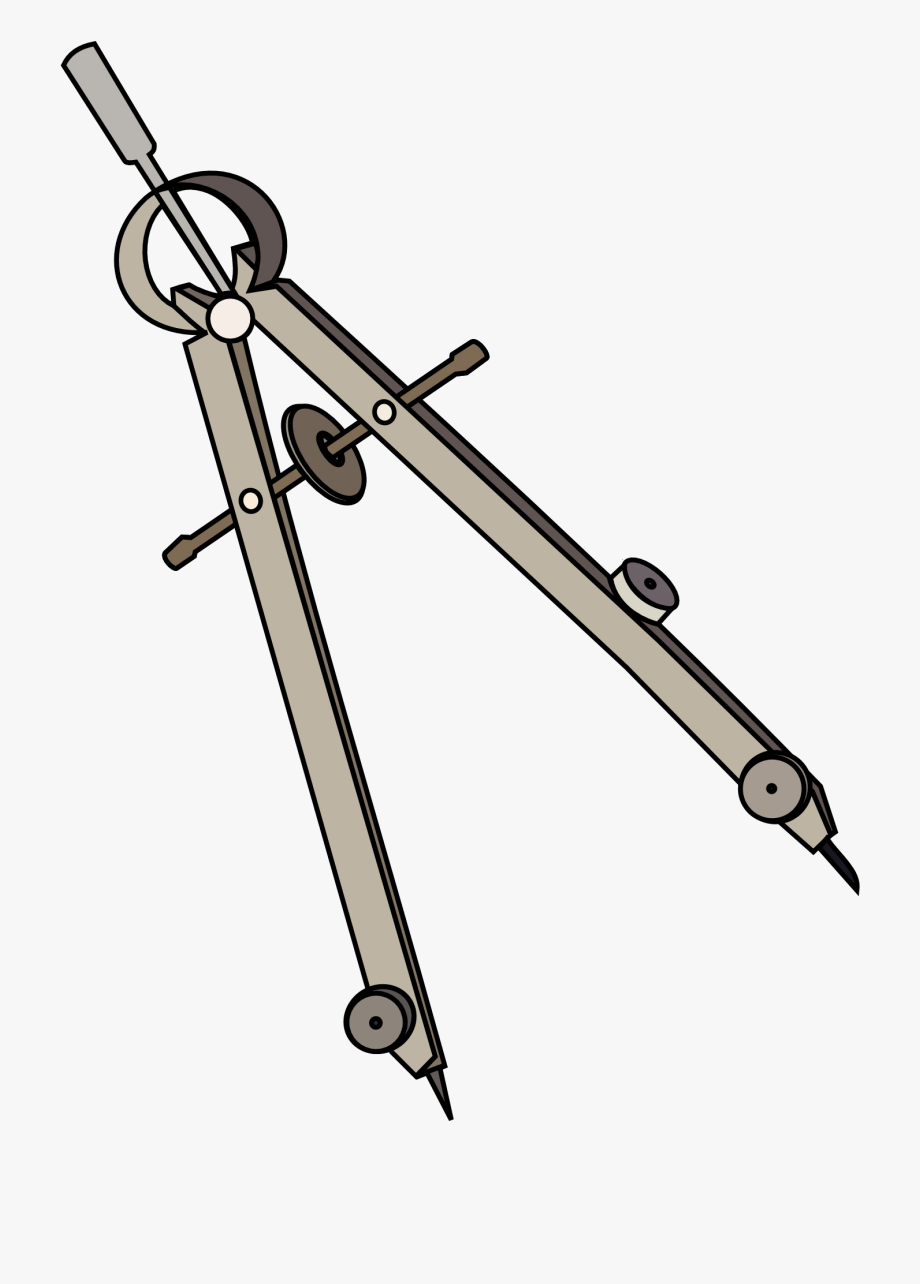 Drawing compass clipart clipart black and white Collection Of Drawing Png High Quality Ⓒ - Compass Used In Drafting ... clipart black and white