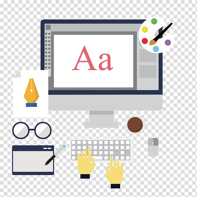 Drawing software clipart png library library Web design Advertising Painting Drawing, PS software transparent ... png library library
