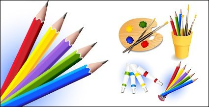 Drawing tools clipart banner Free Drawing tool and supplies Clipart and Vector Graphics - Clipart.me banner