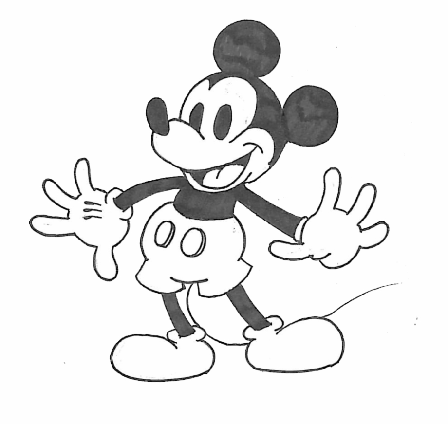 Drawings of the mickey mouse clubhouse on fire clipart banner freeuse download Savage Drawing Mickey Mouse - Cartoon Free PNG Images & Clipart ... banner freeuse download