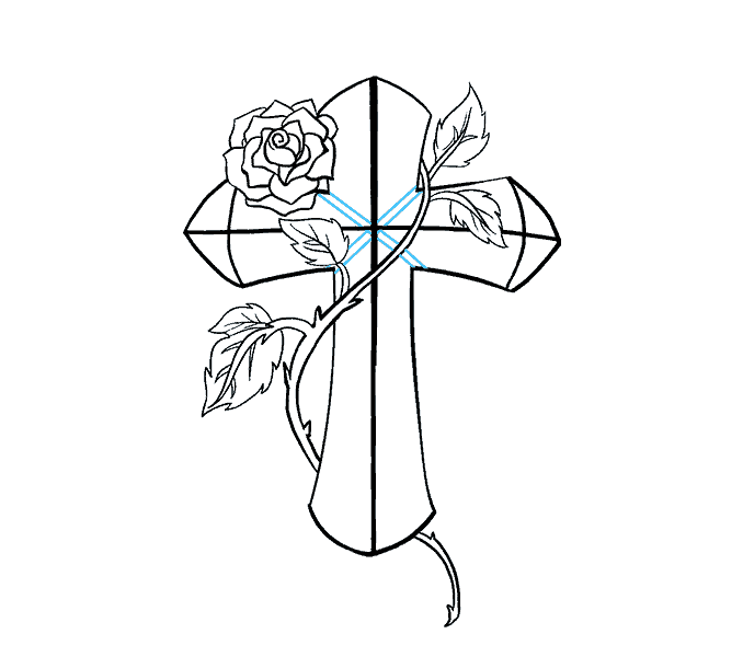 Drawn cross clipart clipart royalty free library Cross Drawing Images at GetDrawings.com | Free for personal use ... clipart royalty free library