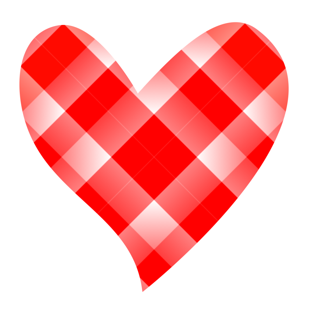 Drawn red heart clipart.  collection of patchwork
