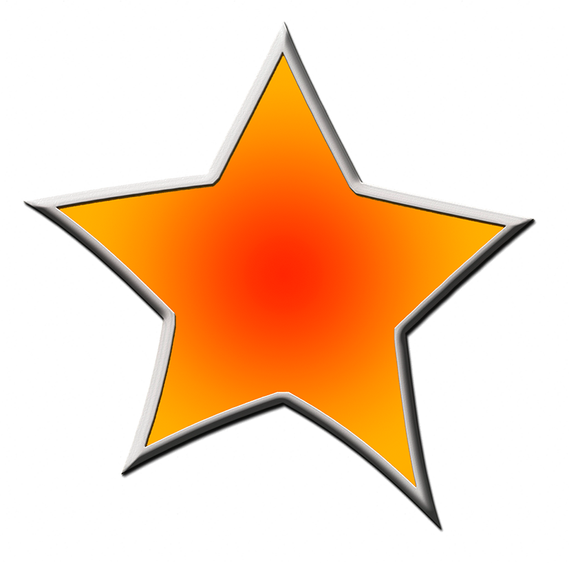 Elegant star clipart. Drawing images at getdrawings