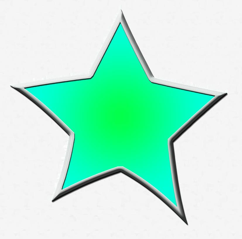 Green star clipart svg Star Clipart svg